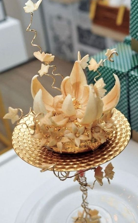 $2,000 Gilded Doughnut from Most Expensive Desserts Ever   E! Online