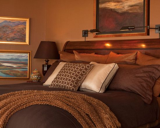 Warm Tones Of Caramel Chocolate And Contrasting Ivory Rich Mahogany