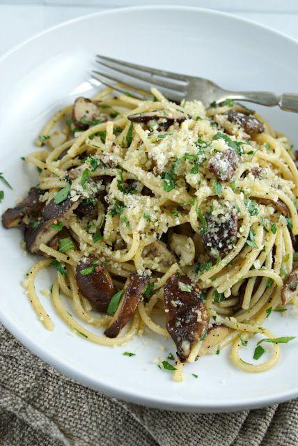 ... simply, sublim mushrooms spaghetti !
