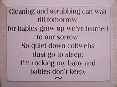 I've always loved this saying. It's so true. I probably held Ellery straight for four months. It goes SO fast.