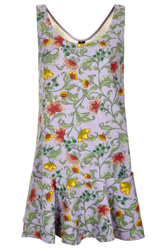 Floral Quilted Dress By Boutique - Dresses - Clothing - Topshop