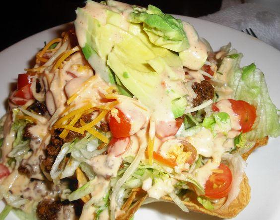 Taco Salad (Healthy)