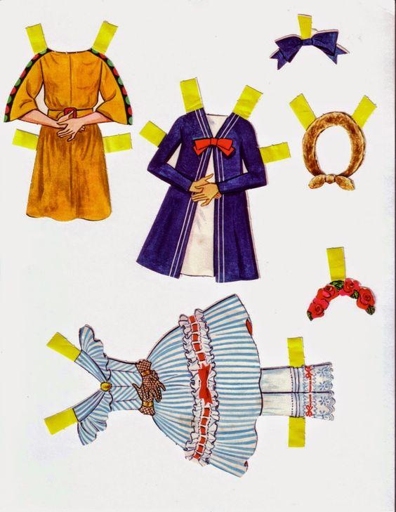 Mais uma linda coleção de bonecas de papel de bailarina para vocês!