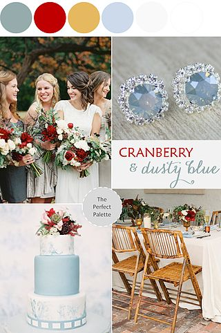 18 Fall Wedding Color Palettes - The Ultimate Guide | The Perfect Palette | Bloglovin
