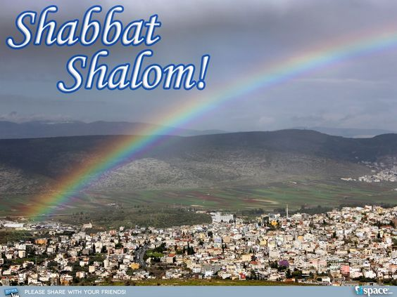 Thanks to the story of Noah and the flood, the rainbow has come to symbolize the calm after the storm. Photo of a rainbow over the Galilee, Israel.