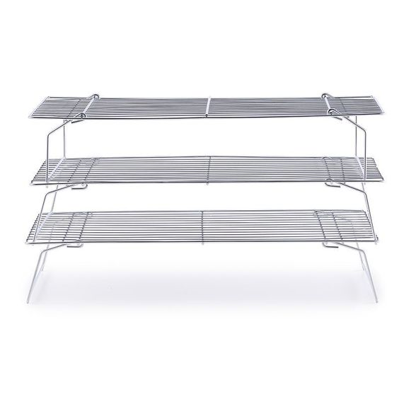 Food Network™ 3-Tier Cooling Rack, Silver