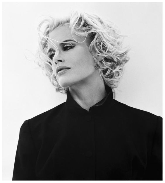 Daryl Hannah / Born: Daryl Christine Hannah, December 3, 1960 in Chicago, Illinois, USA – Photo Michel Comte