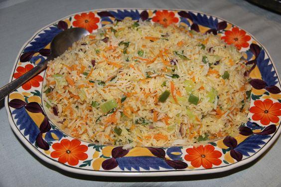 fried rice Ghanaian