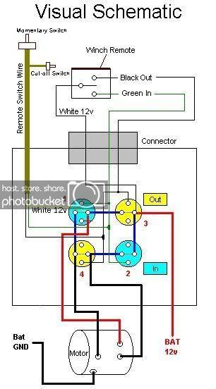 Winch Solenoid, Warn Winch Solenoid Wiring Diagram Atv