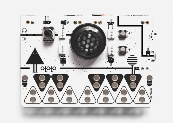 ototo by dentaku : PCB synthesizer for DIY musical instruments