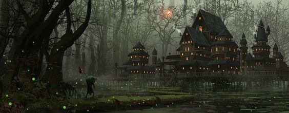 ArtStation - Home Is Where The Swamp Is, Tommy Scott