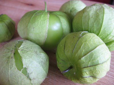 Tomatillo sauce - so good on anything!  Here is a base recipe that can be tweaked for countless variations.