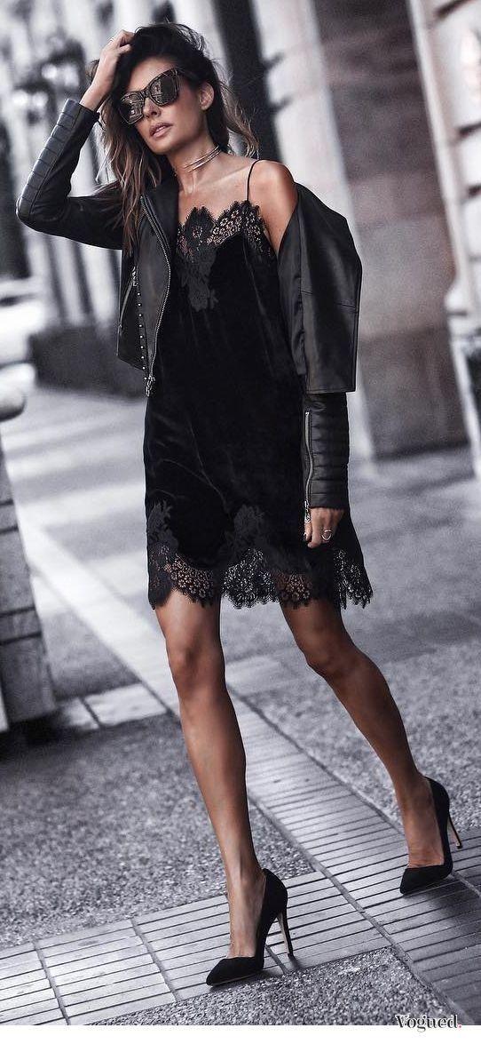 Tendance Mode : quelle veste porter avec une robe noire