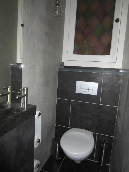 Inzending door ineke van hoek in de badkamer is gekozen voor de kleur lino toilet - Wc kleur ...
