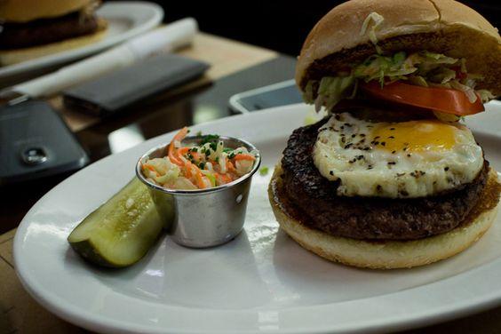 BLT Burger's Australian Wagyu Burger.