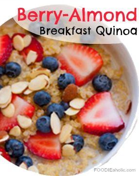 explore almond breakfast breakfast quinoa and more quinoa breakfast to ...