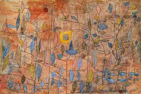 Spärlich Belaub ~ Paul Klee,1934