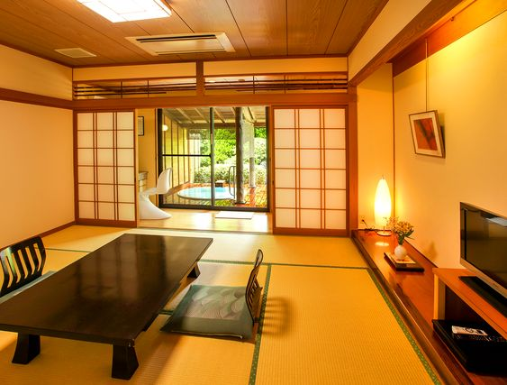 Kaikatei Hana Gozen [Official] | Kyoto (Tango) hot spring inn, guest room with open-air