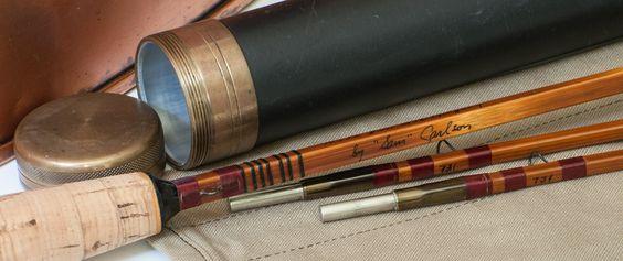 Carlson, Sam - Thomas Four Quad Bamboo Rod - 7'6 2/2 5wt