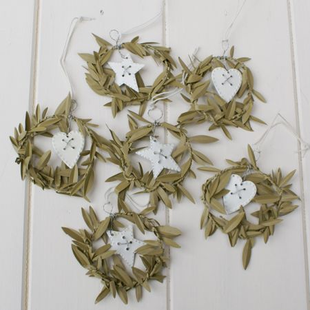 olive leaf wreaths