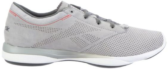 Reebok Easytone Pride 150344, Damen Sportschuhe - Fitness, Grau (grey/rived grey/white/mazz red 91), EU 42 (UK 8): Amazon.de: Schuhe & Handt...