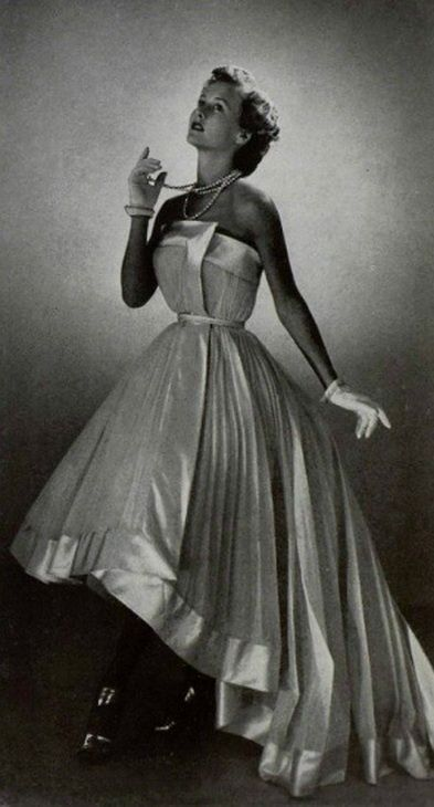 1950 - Christian Dior gown with <3 from JDzigner www.jdzigner.com