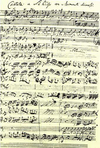 How is Bach's music different from today's?