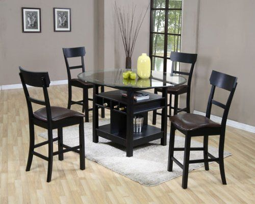 Table Area Table And More Tables Counter Height Table Black Chairs