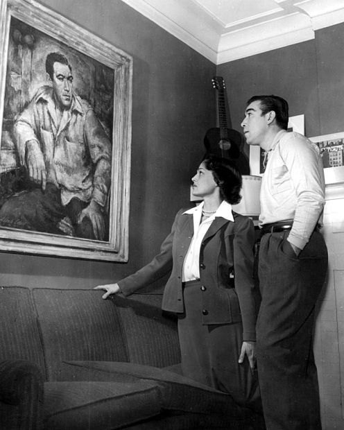 Image result for anthony quinn wife katherine