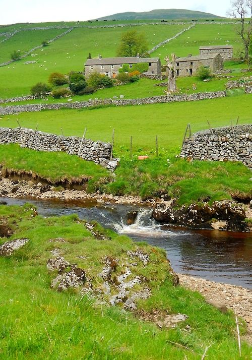 Oughtershaw, Hawes, Yorkshire Dales, North Yorkshire, England     ᘡղbᘠ