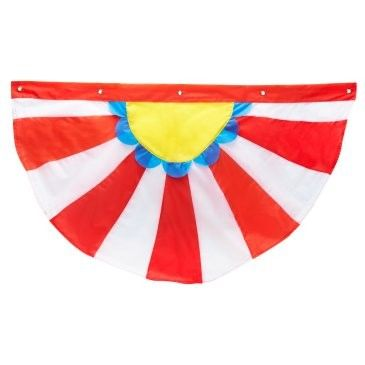 Carnival Nylon Bunting - the colors make me happy.