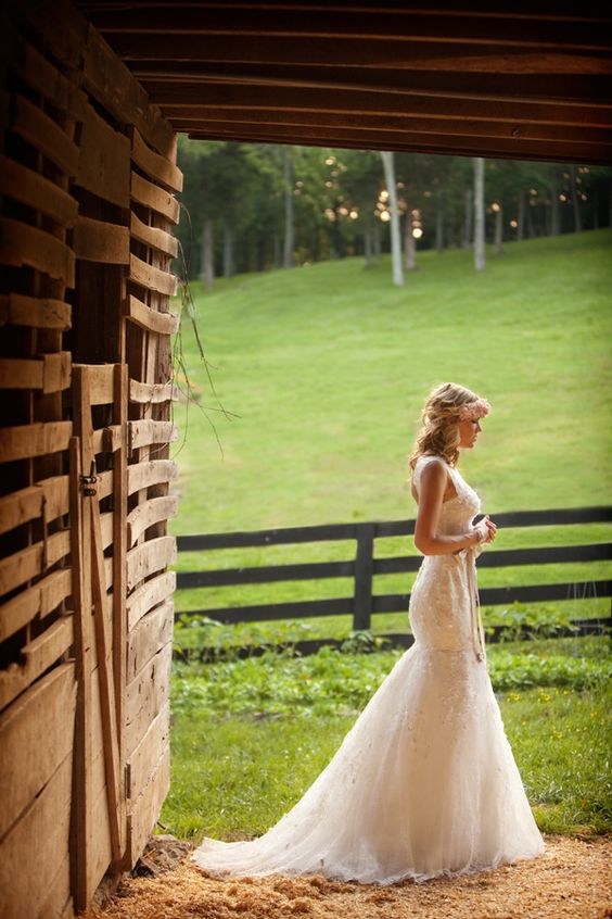 Beautiful, country wedding