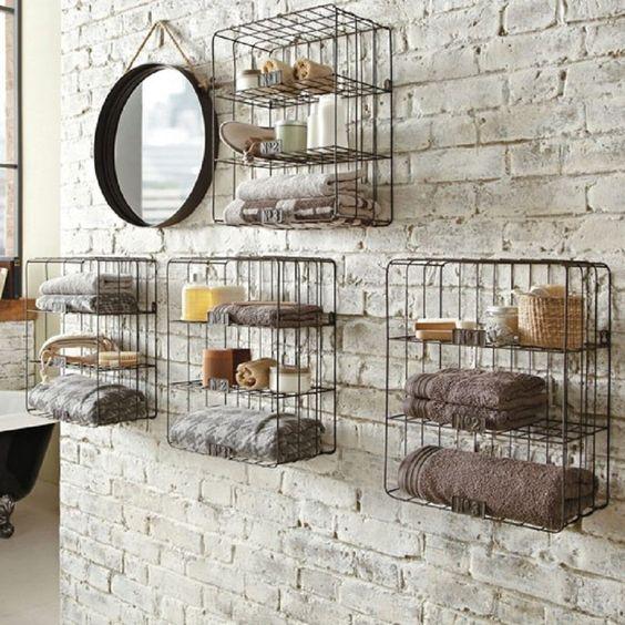 Bathroom Wall Bathroom And Bathroom Wall Shelves On Pinterest