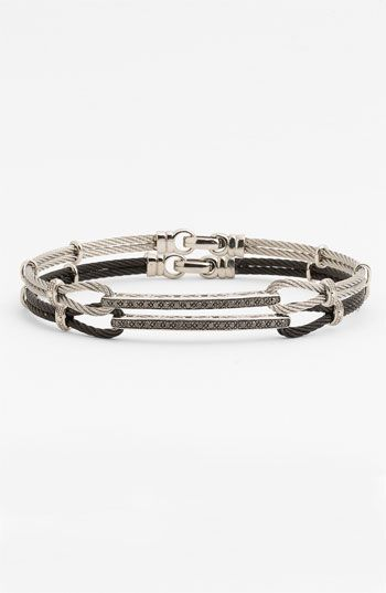 Charriol 'Classique' ID Bracelet (Nordstrom Exclusive) available at #Nordstrom