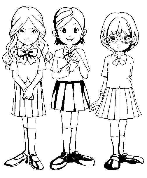 Coloriage Inazuma Eleven Go.Coloriage Inazuma Eleven Go 10 Anime Coloriage Inazuma