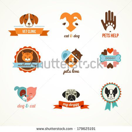 Vintage Love Collection: Flowers, Labels, Laurel, Hearts, Birds, Cats, Rabbit, Air-Balloon, Bicycle. Graphic Set In Retro Style Banco de ilustração vetorial 158333180 : Shutterstock