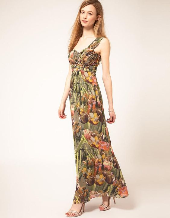 Sale Clearance! Ted Baker Tulip Print Maxi Dress  Dream outfits ...