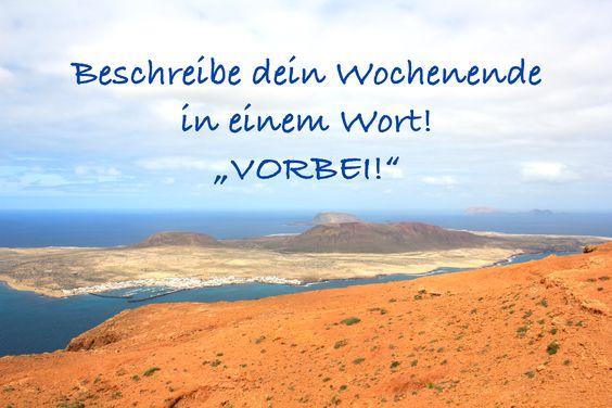 #Zitate #Reisen #Wochenende #Sprüche #Montag #Montagsmotivation