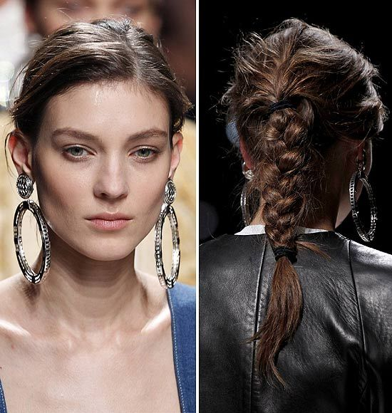Tendencias primavera-verano 2013: 14 formas de llevar una trenza esta temporada #Looks #TendenciasHOLA  Repasamos los mejores 'looks' de pasarela con el peinado 'it' de la primavera