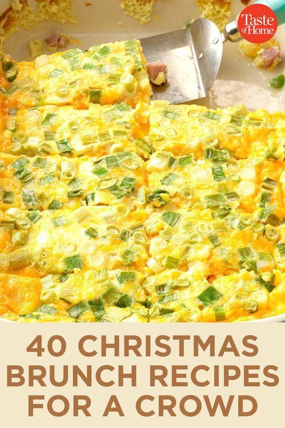 40 Christmas Brunch Recipes For A Crowd Resep Makanan Lauk Makan Malam Makan Malam
