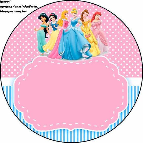 Princesas disney etiquetas gratis para candy bar - Muebles de princesas disney ...