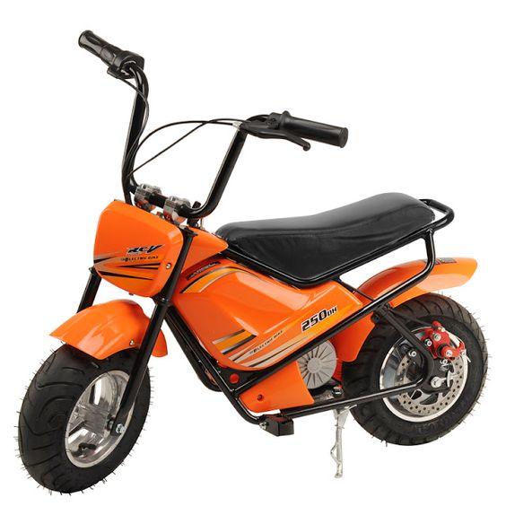 rogeriodemetrio.com: 250W Mini motocicleta elétrica