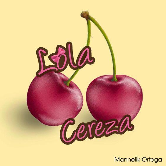 Logo Lola Cereza by Mannelik O.