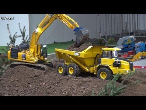 Rc Trucks Machines Big Fun And Play In Austria Youtube Radio Control Rc Trucks Farm Toys