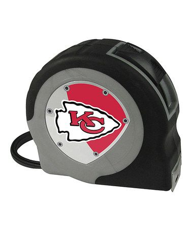 This Kansas City Chiefs Tape Measure by Team ProMark is perfect! #zulilyfinds