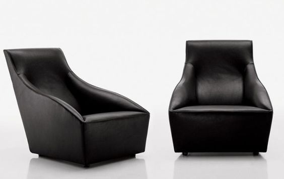 Cozy Lounge Chair from Molteni & C l Black Chair