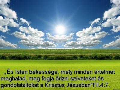 Isten békessége