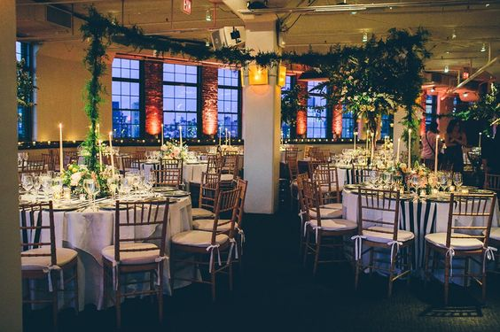 Beautiful Outdoor Wedding Ceremony At Tribeca Rooftop: Tribeca Rooftop NYC Events Venue & Catering