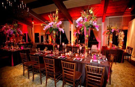 Decoração de Casamento Romântico Jantar