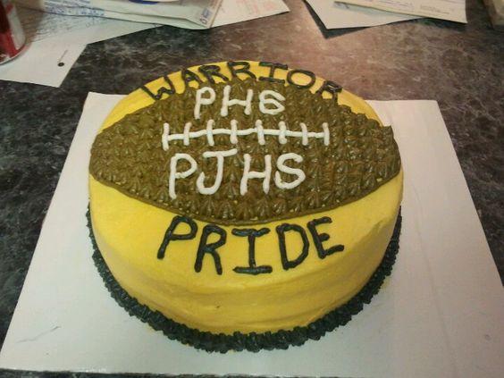 Fund raiser cake